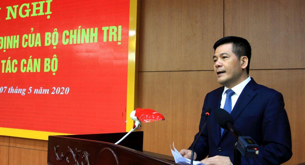 Đồng chí Nguyễn Hồng Diên, Ủy viên Trung ương Đảng, Phó Trưởng Ban Tuyên giáo Trung ương phát biểu tại hội nghị.