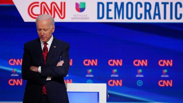 Joe Biden, ứng cử viên Tổng thống Mỹ năm 2020 đại diện cho Đảng Dân chủ - Sputnik Việt Nam