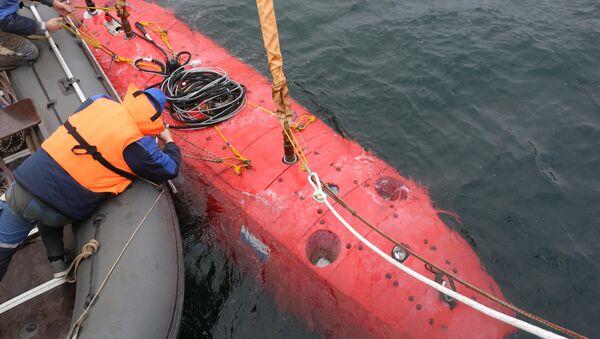Phương tiện không người lái dưới nước mới nhất Vityaz đã lặn xuống rãnh Mariana - Sputnik Việt Nam