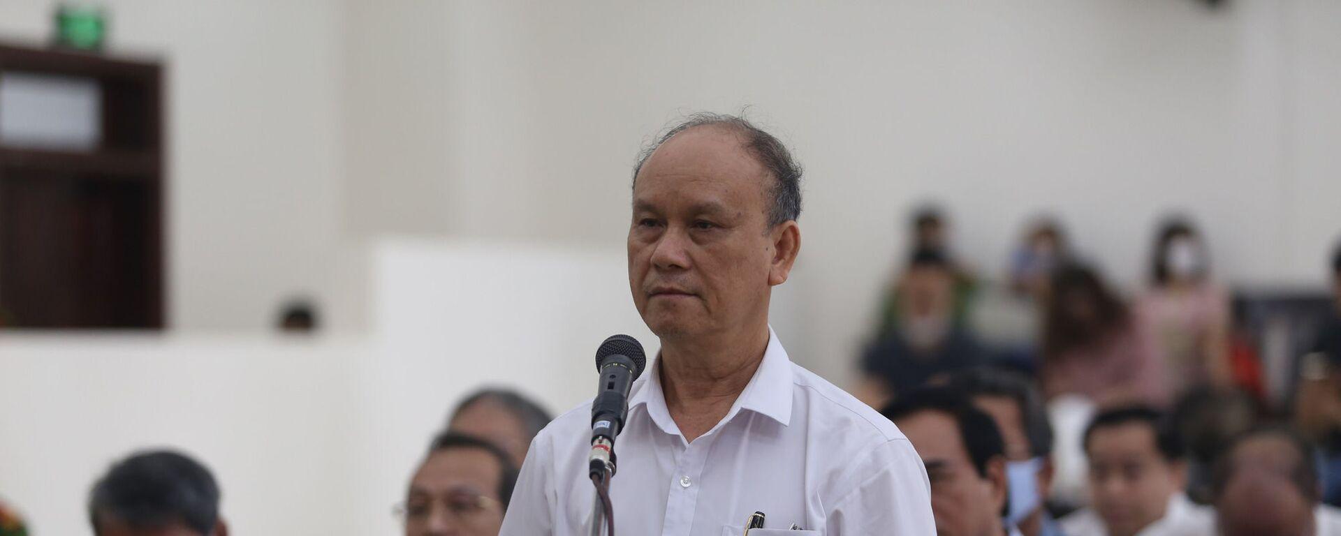 Cựu chủ tịch Trần Văn Minh tại phiên tòa  - Sputnik Việt Nam, 1920, 12.05.2020