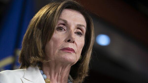 Chủ tịch Hạ viện Hoa Kỳ, bà Nancy Pelosi - Sputnik Việt Nam