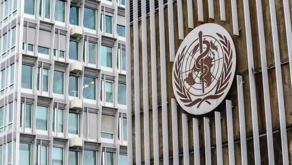 Tòa nhà trụ sở của Tổ chức Y tế Thế giới tại Geneva - Sputnik Việt Nam
