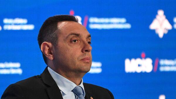 Bộ trưởng Quốc phòng Serbia Alexander Vulin - Sputnik Việt Nam