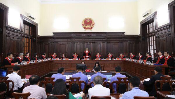 Quang cảnh khai mạc phiên tòa  - Sputnik Việt Nam