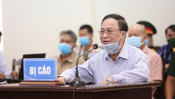Bị cáo Nguyễn Văn Hiến khai báo trước Hội đồng xét xử - Sputnik Việt Nam