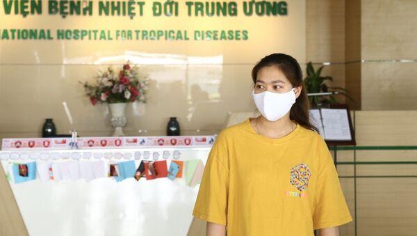 Bệnh nhân công bố khỏi bệnh ngày 18/5/2020 - Sputnik Việt Nam