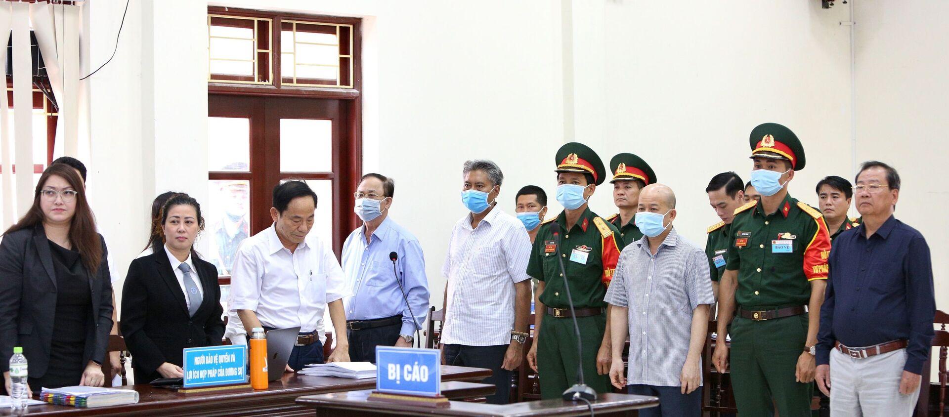 Phiên xét xử sơ thẩm chiều 20/5. - Sputnik Việt Nam, 1920, 20.05.2020