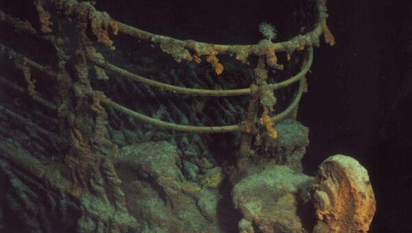 Mũi Titanic bị đắm - Sputnik Việt Nam