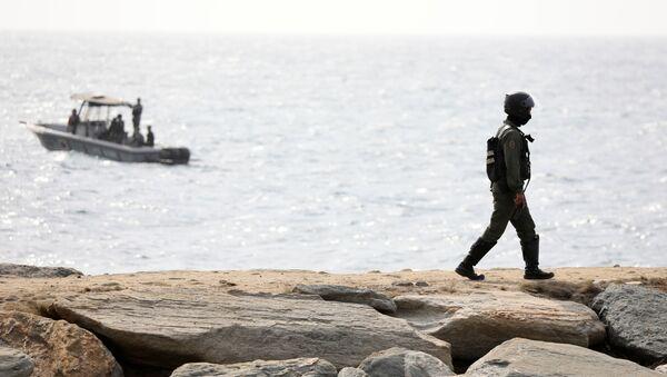 Lực lượng đặc biệt Venezuela trên bờ biển ở Makuto - Sputnik Việt Nam