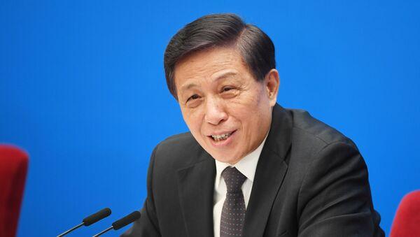 Đại diện chính thức của phiên họp thứ 3 Đại hội Nhân dân toàn Trung Quốc (Quốc hội) Zhang Yesui - Sputnik Việt Nam