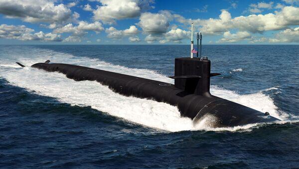 Tàu ngầm mang tên lửa hạt nhân «Colombia»  - Sputnik Việt Nam