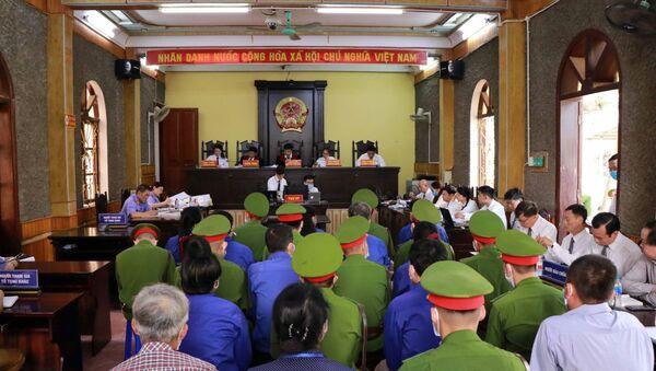 Quang cảnh phiên tòa. - Sputnik Việt Nam
