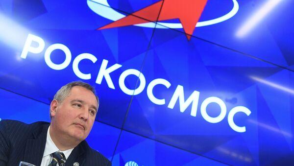 Tổng giám đốc của tập đoàn nhà nước Roscosmos Dmitry Rogozin - Sputnik Việt Nam