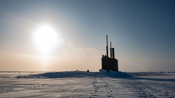 Tàu ngầm hạt nhân Toledo ở Bắc Cực - Sputnik Việt Nam
