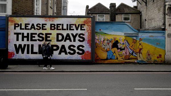 Graffiti ở London, Vương quốc Anh. - Sputnik Việt Nam