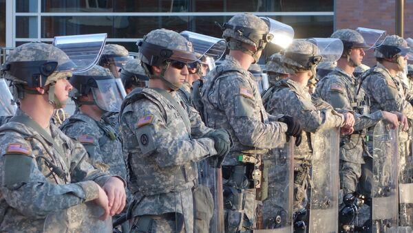 Lính bảo vệ quốc gia Hoa Kỳ - Sputnik Việt Nam