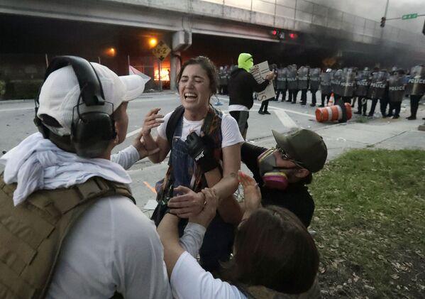 Người biểu tình ở Miami - Sputnik Việt Nam