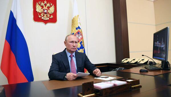 Tổng thống Liên bang Nga V. Putin. - Sputnik Việt Nam