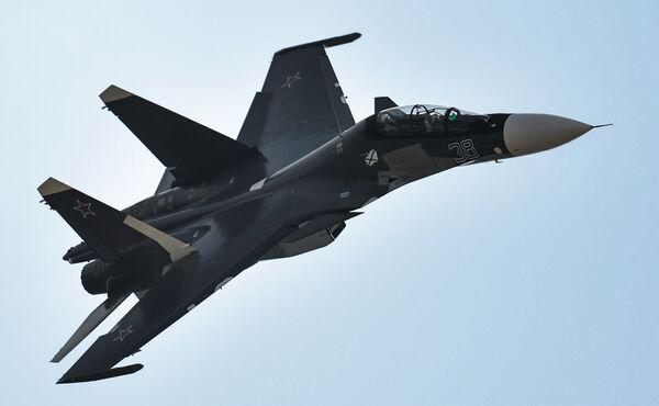 Tiêm kích cơ Su-30SM. - Sputnik Việt Nam