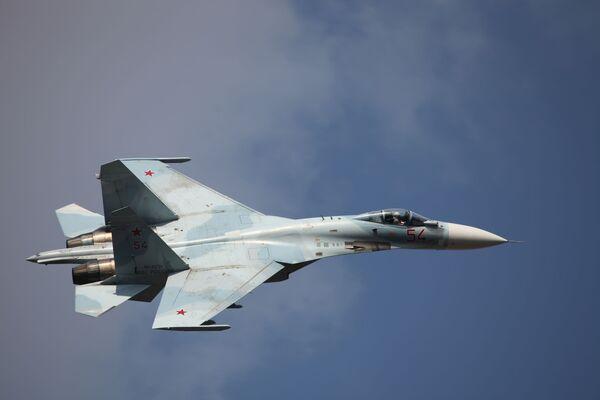 Tiêm kích cơ Su-27SM3 - Sputnik Việt Nam