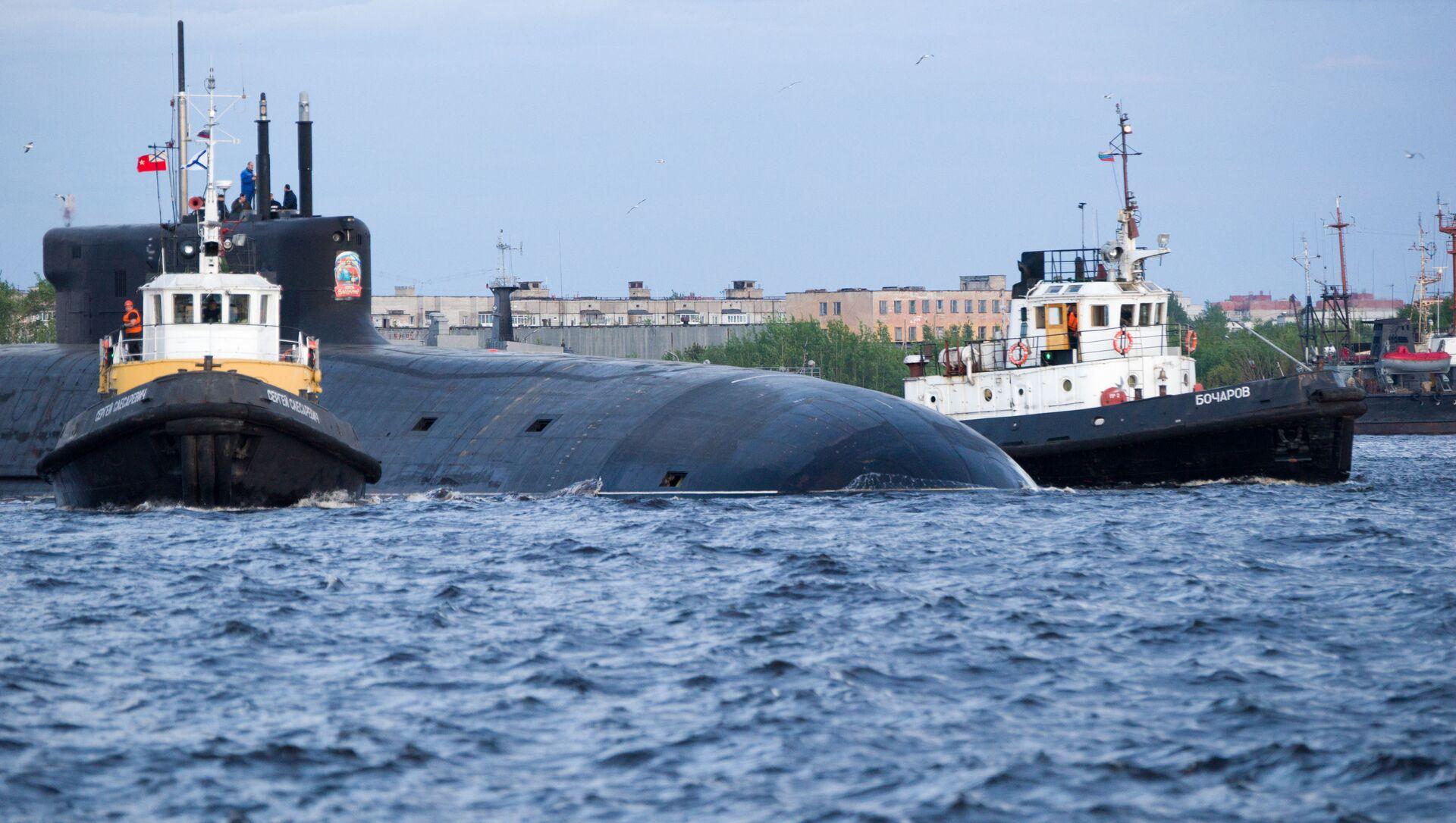 Tàu ngầm hạt nhân «Hoàng tử Vladimir» - Sputnik Việt Nam, 1920, 11.07.2021