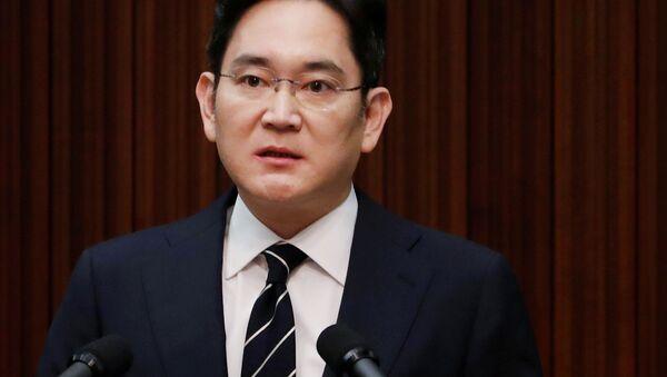Phó chủ tịch Samsung Electronics Jay Lee - Sputnik Việt Nam