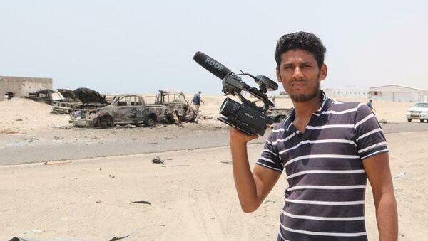 Stringer của Ruptly Nabil Hassan al-Qaiti bị giết - Sputnik Việt Nam