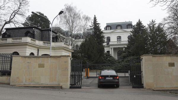 Đại sứ quán Nga tại Prague. - Sputnik Việt Nam
