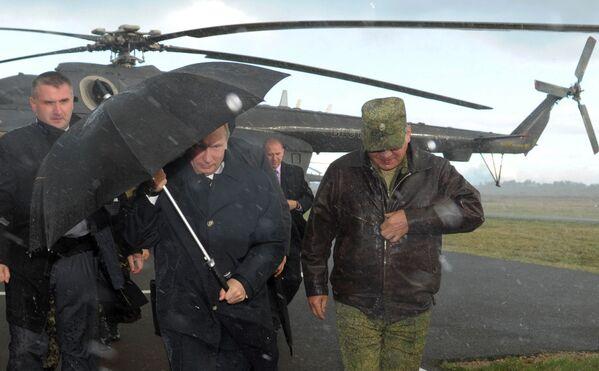 Tổng thống Nga Vladimir Putin tại thao trường ở vùng Kaliningrad, 2013 - Sputnik Việt Nam