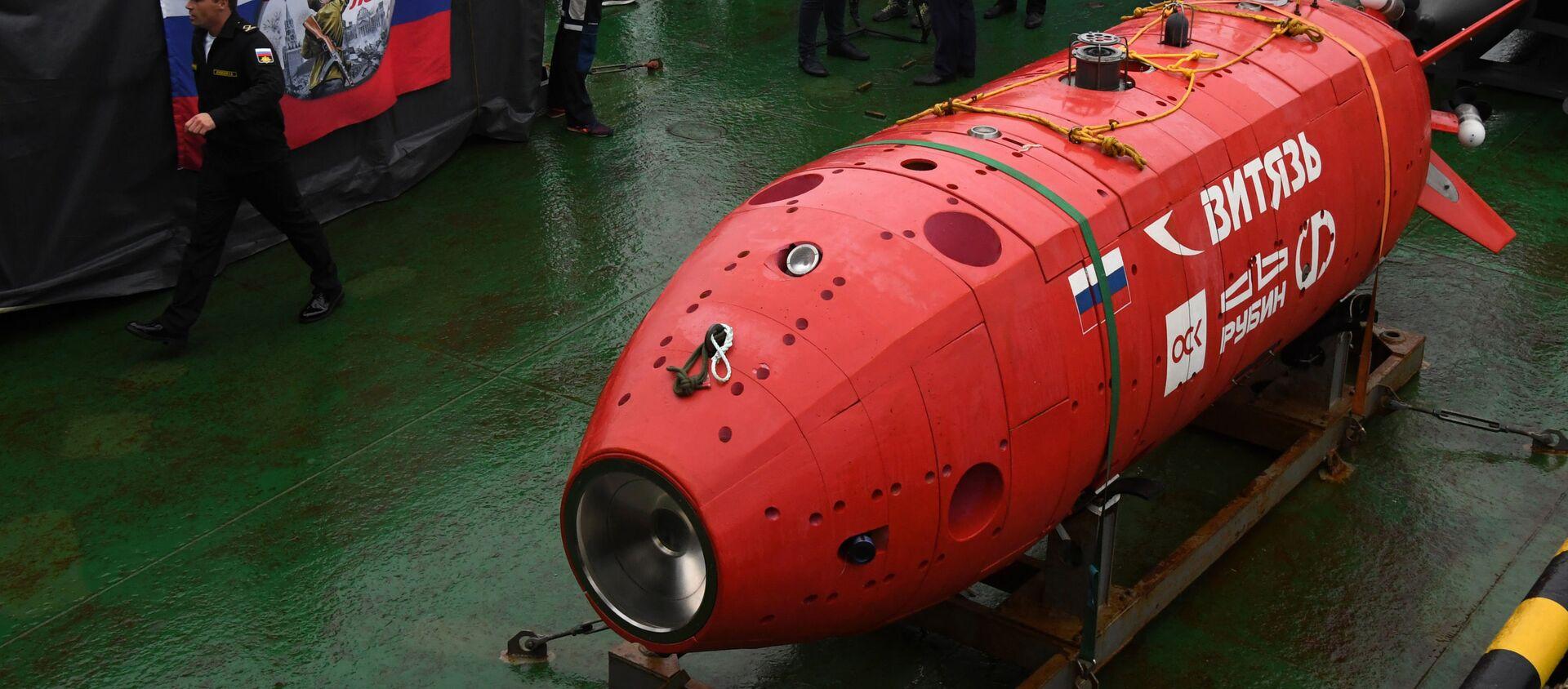 Phương tiện không người lái dưới nước mới nhất Vityaz - Sputnik Việt Nam, 1920, 12.06.2020
