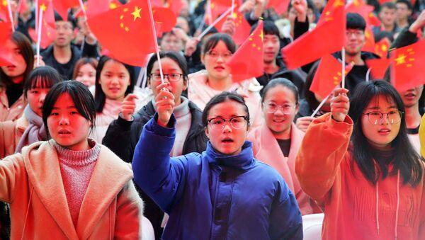 Sinh viên Trung Quốc - Sputnik Việt Nam