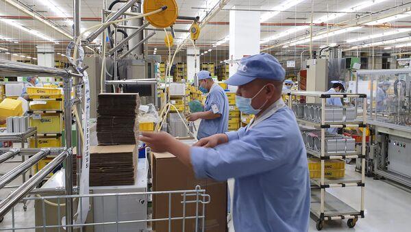 Nhà máy ở Trung Quốc - Sputnik Việt Nam