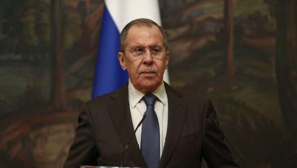 Bộ trưởng Ngoại giao Nga Serge Lavrov - Sputnik Việt Nam