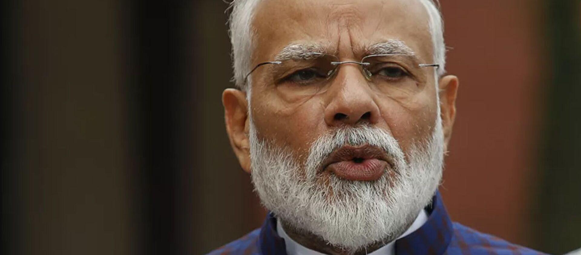 Tổng thống Ấn Độ Narendra Modi - Sputnik Việt Nam, 1920, 02.02.2021