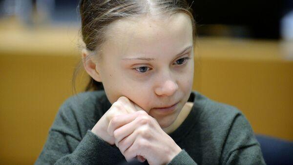 Nhà hoạt động sinh thái Thụy Điển Greta Thunberg - Sputnik Việt Nam