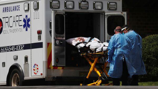 Bác sĩ cứu thương ở Hammont, New Jersey, Hoa Kỳ - Sputnik Việt Nam