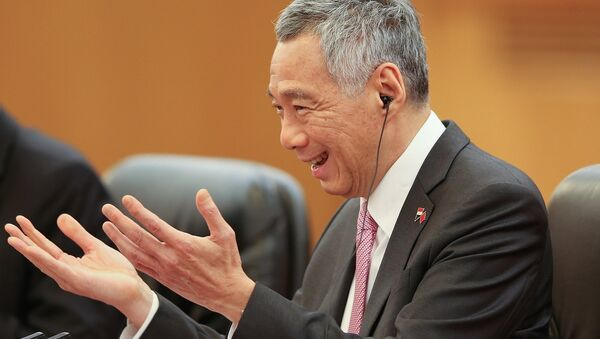 Thủ tướng Singapore Lý Hiển Long - Sputnik Việt Nam