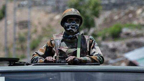 Người lính Ấn Độ ở Ladakh - Sputnik Việt Nam