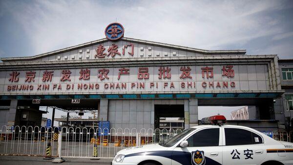 Сhợ bán buôn nông sản Tân Phát Địa (Xinfadi), Bắc Kinh - Sputnik Việt Nam
