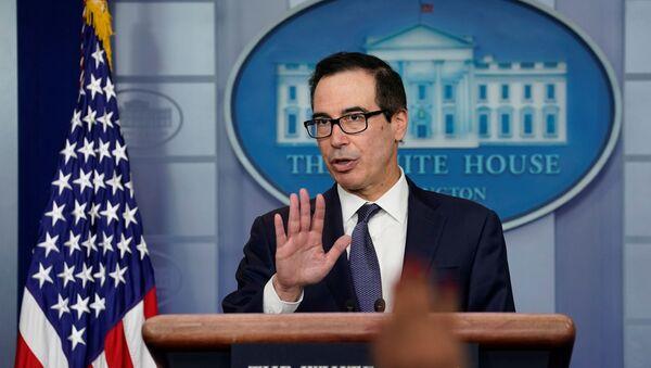 Bộ trưởng Bộ Tài chính Hoa Kỳ Steven Mnuchin - Sputnik Việt Nam