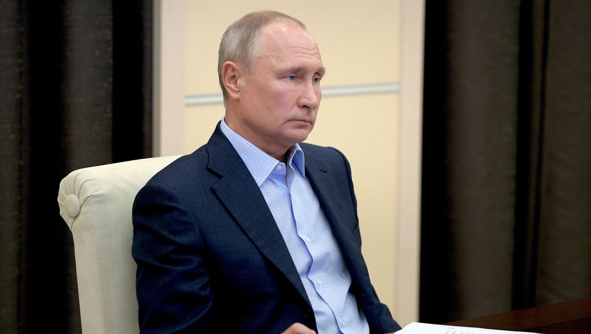 Tổng thống Nga Vladimir Putin - Sputnik Việt Nam, 1920, 11.03.2021