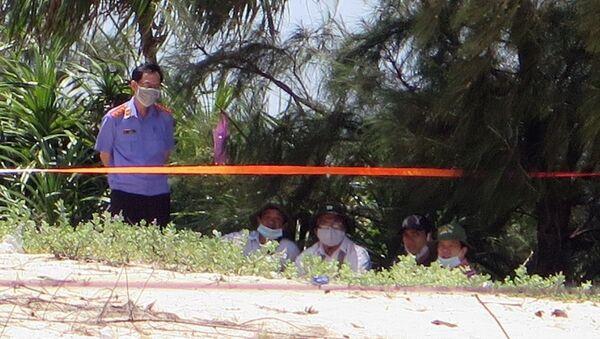 Khu vực xảy ra vụ việc được phong tỏa để khám nghiệm hiện trường - Sputnik Việt Nam