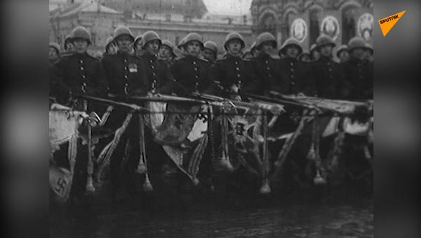 Cuộc diễu hành của những người chiến thắng năm 1945 - Sputnik Việt Nam