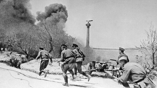 Thủy quân lục chiến trong trận chiến ở Sevastopol trong Thế chiến II - Sputnik Việt Nam