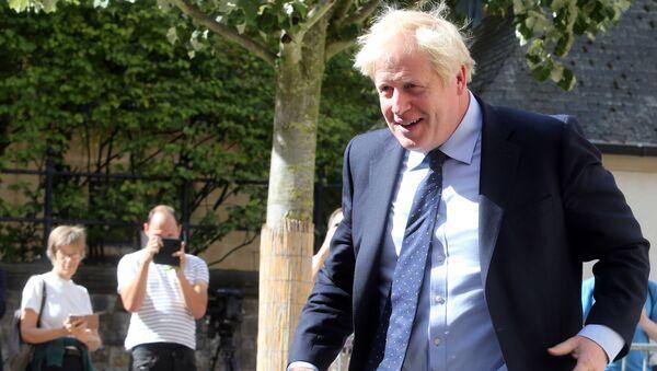 Thủ tướng Vương quốc Anh Boris Johnson - Sputnik Việt Nam