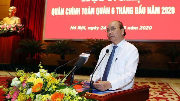 Thủ tướng Nguyễn Xuân Phúc phát biểu - Sputnik Việt Nam