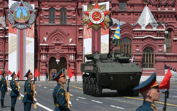 Cuộc diễu hành quân sự kỷ niệm 75 năm Chiến thắng ở Moskva. - Sputnik Việt Nam