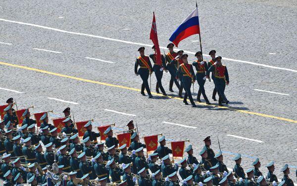 Cuộc diễu hành quân sự kỷ niệm 75 năm Chiến thắng ở Moskva - Sputnik Việt Nam