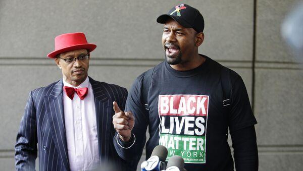 Chủ tịch chi nhánh Black Lives Matter Hawk News ở New York - Sputnik Việt Nam