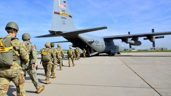 Quân đội Hoa Kỳ tại sân bay Malmesheim, Đức - Sputnik Việt Nam
